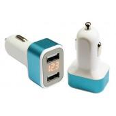 Зарядное устройство 12/24V на 2 х USB разъема 5V-2.1 А, 1.0 А + вольтметр