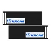 Брызговик 35х240 см (KRONE) с светоотражающей белой основой, из 2-х частей