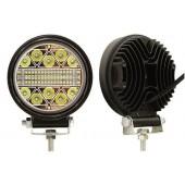Фара светодиодная п/т и рабочего света, 12-80V, 120W (d=115 мм, 40 LED)