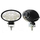Фара светодиодная противотуманная и рабочего света 10-30V, 24W, 8 LED