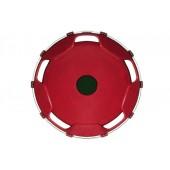 Колпак колеса задний R-22,5 (пластик-бордо)