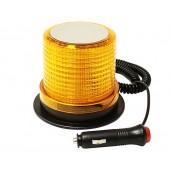 """Маяк проблесковый светодиодн. 10-30 V (""""Стробоскоп"""", h=100 мм,d=85-119мм,магн.+ винты, в прик. 30LED)"""