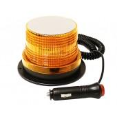 """Маяк проблесковый светодиодн. 10-30 V (""""Стробоскоп"""", h=80 мм,d=85-119мм,магн.+ винты, в прик., 30LED)"""