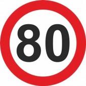 Знак грузовой 80