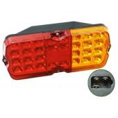 Фонарь задний LED 12V л/п с разъемом УАЗ