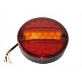 Фонарь задний LED л/п с кабелем 24V, универсальный, с указателем поворота