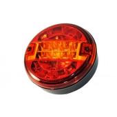 Фонарь задний LED л/п под кабель 24V, универсальный, с указателем поворота