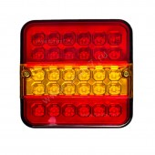 Фонарь автовоза 3-х секционный LED 140*140*8(19303)