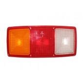 Стекло фонаря заднего универсального для грузового автомобиля 0029С