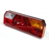 Стекло фонаря заднего универсального для грузового автомобиля 0023С