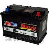 Автомобильный аккумулятор AUTOPART Plus, 77 А/ч