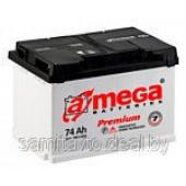 Автомобильный аккумулятор A-mega Premium 74 А/ч