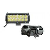 Фара светодиодная п/т и рабочего света, 10-30V, 36W (160х80мм, 12 LED)