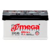 Автомобильный аккумулятор A-mega Ultra плюс 110 А/ч