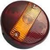 Стекло фонаря заднего универсального для грузового автомобиля 0021С