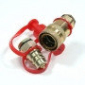 Разъем пневматический Fer-ro, М22 (красный, желтый) АТ-371