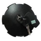 Крышка топливного бака, d80 с ключом и защитой, с цепочкой (пластик), универсальная