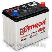 Автомобильный аккумулятор A-mega Asia 60 А/ч